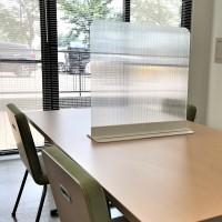 卓上 テーブル パーテーション 550 (透明)