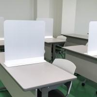 卓上 テーブル パーテーション 550 (乳白)